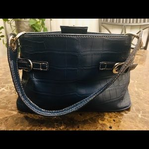 Vintage Tommy Hilfiger Blue Handbag Purse